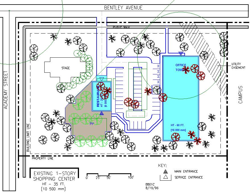Site Planning And Design Alt 1 1st Attempt