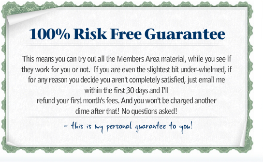 100 percent risk guarantee